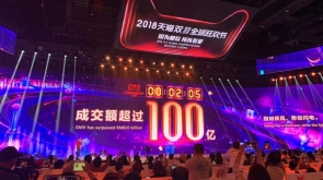 tmall double 11 record sales 2018