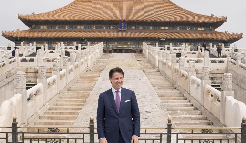 conte pechino beijing xi jinping belt and road BRI